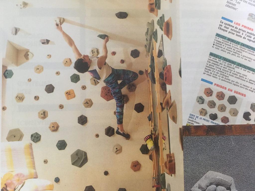 climber on original EP hexes