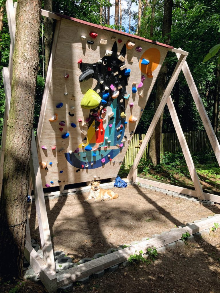 Surf AllBlue's Home Climbing Wall